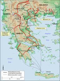 british army presence invites invasion of greece world war