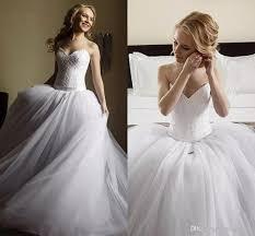 corset wedding 2018 lace corset gown wedding dresses dropped waist