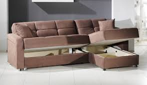sectional sleeper sofa with storage for small house