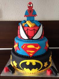 decoración para cumpleaños de niños marvel cake lego marvel and