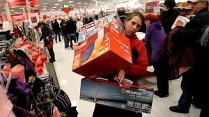 target black friday paper shoppers go crazy on black friday youtube