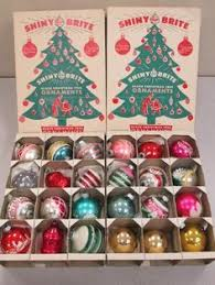 shiny brite i still the original boxes to ornaments