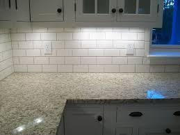 tiles backsplash white kitchen with glass tile backsplash