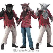 Supernatural Halloween Costumes Cl132 Werewolf Halloween Costume Big Bad Wolf Man Animal Monster