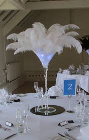 Ostrich Feather Centerpiece Event Decoration Www Bestwishes Uk Com Table Centrepieces