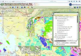 Chelan Washington Map by Geologic Maps Northwest Geology Field Trips