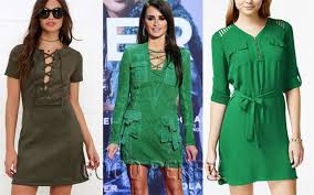 look for le be as as penelope cruz in this green mini