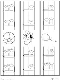 printable alphabet mat letter b formation writing mat printable myteachingstation com