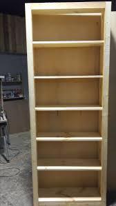 8 Ft Bookshelf 8ft Custom Made Bookshelf Before Aged Finish By Cowboy Jeff