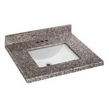 Home Decorators Collection Bathroom Vanity by Home Decorators Collection 25 In W X 22 In D Granite Vanity Top