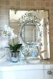 Bathroom Mirror Vintage Etched Bathroom Mirror Vintage Deinestadt