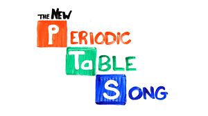 Words That Rhyme With Table The New Periodic Table Song Updated Youtube