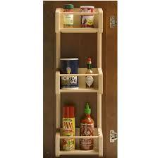 Spice Rack Door Mounted Pantry Door Organizers Door Mounted Racks Shelves U0026 Organizers In