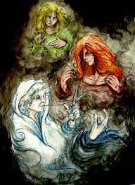 time the fates wip by childofpuck on deviantart