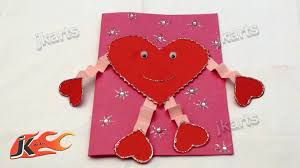Valentine S Day At Home by Diy How To Make Valentine U0027s Day Greeting Card Style 4 Jk Arts
