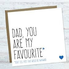 funny father u0027s day card funny birthday card for dad blank