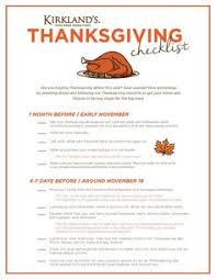 checklist for a stress free thanksgiving stress free big family