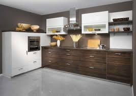 modern small l shaped kitchen with island room image and wallper