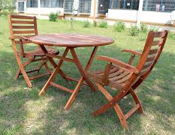 Teak Outdoor Dining Table And Chairs Patio Ideas Round Folding Wood Patio Table Outdoor Wood Folding