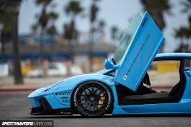 Blue Lamborghini Aventador - blue shark attack lb works u0027 aventador speedhunters