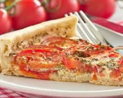 recette cuisine d été recette de quiche d été légère aux tomates à la moutarde