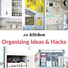 kitchen organization ideas 20 kitchen organizing ideas hacks moment