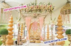 Hindu Wedding Mandap Decorations Indian Wedding Decorated Pots Choris Gagars