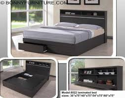 Wooden Bed Frame Double by 8022 Wooden Bed Frame Single Twin Double Queen Size Bonny