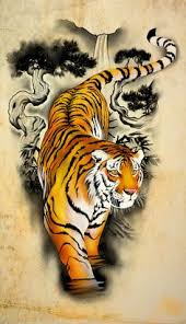 design tiger by badfish1111 on deviantart tiger