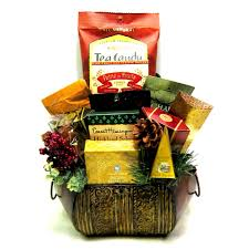 sympathy gift baskets tea gift basket