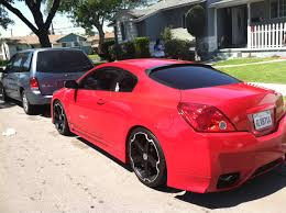 nissan altima coupe modifications coupe dropped on eibach on 20 u0027s nissan forum nissan forums