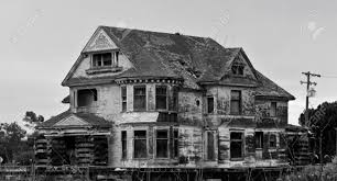 spooky old haunted house stock photo picture and royalty free