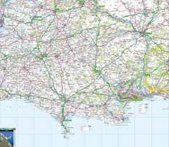 Map Of Portland Where Is Dorset Free Map Including Jurassic Coast Isle Purbeck