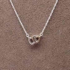 pandora heart necklace pendant images Authentic pandora 590517 45 united in love necklace with 14k gold jpg
