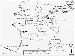 World War 2 In Europe And North Africa Map by Hyperwar Army Air Forces In Wwii Europe Torch To Pontblank