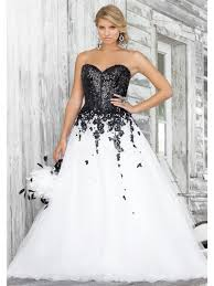 white and black wedding dresses white and black wedding dress dress fa
