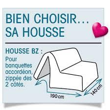 Housse De Canape Sur Mesure Housse De Banquette Housse Canapé Bz Bachette Blancheporte