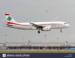 od mro mea middle east airlines airbus a320 232 at milan airport