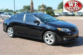 2013 toyota camry se sedan certified 2013 toyota camry se for sale in san antonio tx uu285304