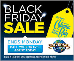 black friday travel universal orlando black friday cyber sale mousekeplanner