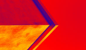 Red Orange Flag Wallpaper Digital Art Architecture Red Sky Yellow Flag