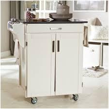 kitchen white kitchen cart with stainless steel top w quartz top