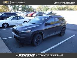 jeep chevrolet 2017 used jeep cherokee altitude fwd at landers alfa romeo fiat