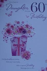 for a special daughter on your 60th birthday cards gifts http