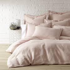 amazon com washed linen blush twin duvet cover home u0026 kitchen