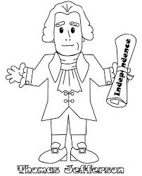 jefferson coloring pages