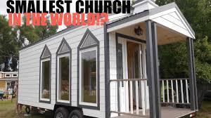 Tiny House Victorian by The Smallest Church In The World A Tiny House On Wheels