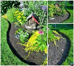 Garden Edge Ideas Flower Garden Edging Ideas Nicely Defined Flower Bed I The
