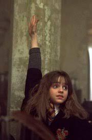 Raising Hand Meme - image hermione raising hand jpg harry potter wiki fandom