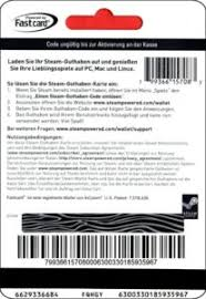 steam 20 gift card gift card steam computer germany federal republic epay